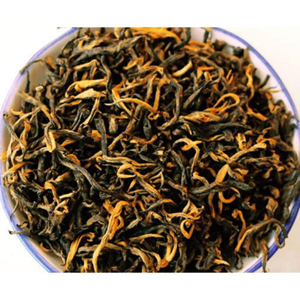 500 г Дикая Весна Диан Хонг чай древнего дерева Юньнань Куньфу черный чай Fengqing Dianhong dian hong BT-023 Оптовая