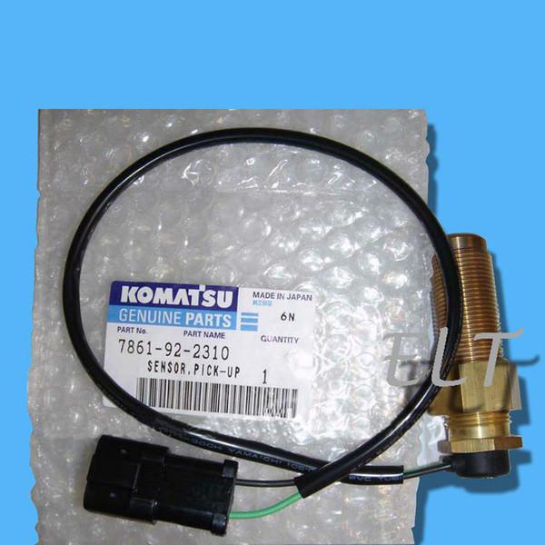 Komatsu PC200-5 PC200-6 Capteur de vitesse de rotation 7861-92-2310 Capteur de vitesse, Capteur de révolution PC200-5 pour excavatrice