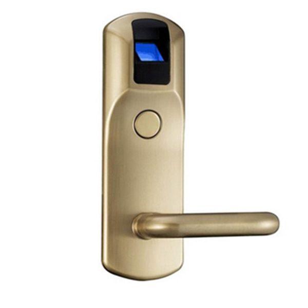 Großhandels-Biometric Fingerabdruck Türschlösser Home Security RFID Zutrittskontrolle Digital RFID Leser Türschloss Hohe Qualität Schlösser für Hotel