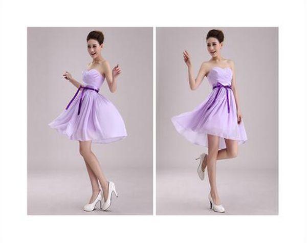 short light purple