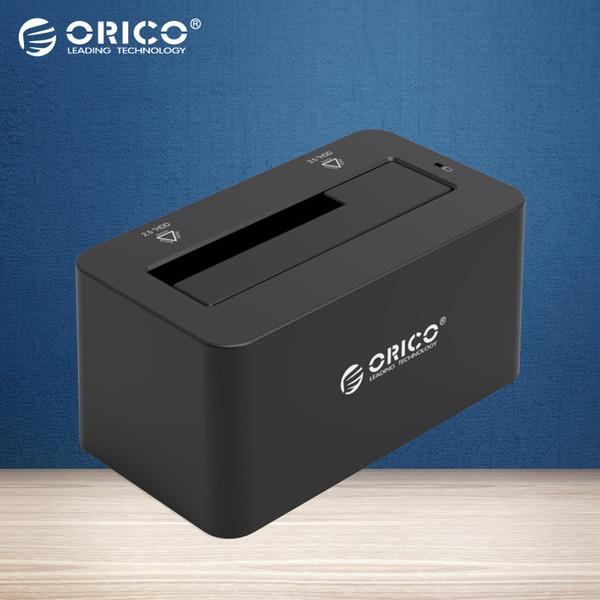 Toptan Satış - ORICO 6619C3 6Gbps Süper Hızlı USB3.0 Tip-C 2.5 '' / 3.5 '' Aracı Ücretsiz SATA HDD SSD Yerleştirme İstasyonu Harici Depolama Muhafaza
