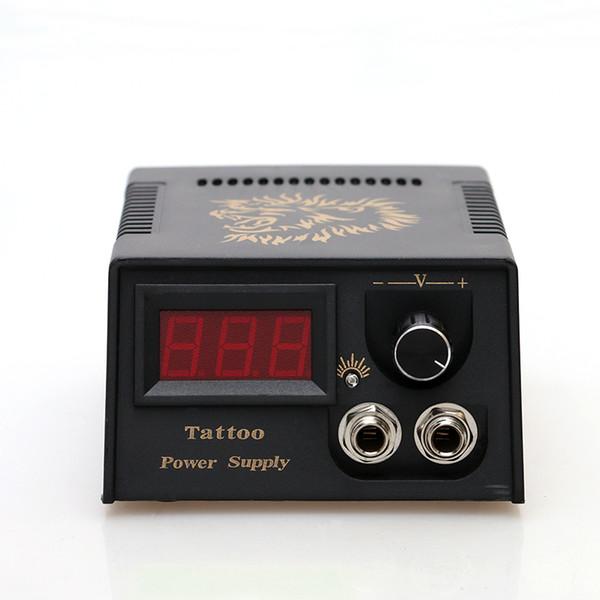 New Arrival Portable Dual LCD Cast Iron Tattoo Power Machine Gun