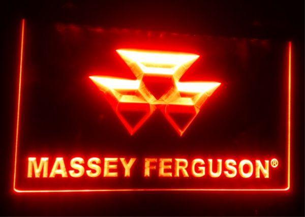 top popular TR-17 Massey Ferguson Tractor beer bar pub club 3d signs led neon light sign home decor crafts 2021