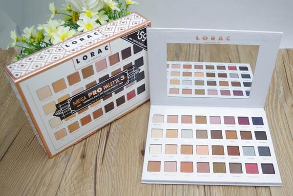 Professional shimmer /MATTE LORAC MEGA PRO 3 Palette 32 Color nake Eyeshadow LORAC Eye shadow Palette Makeup Set cosmetics 12pcs/lot DHL