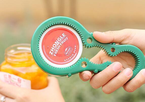 Nuovo arrivo Bottle Jar Opener Multi-Opener può tin maneggevole gomma flessibile Tappo a vite Dispositivo Utensili da cucina
