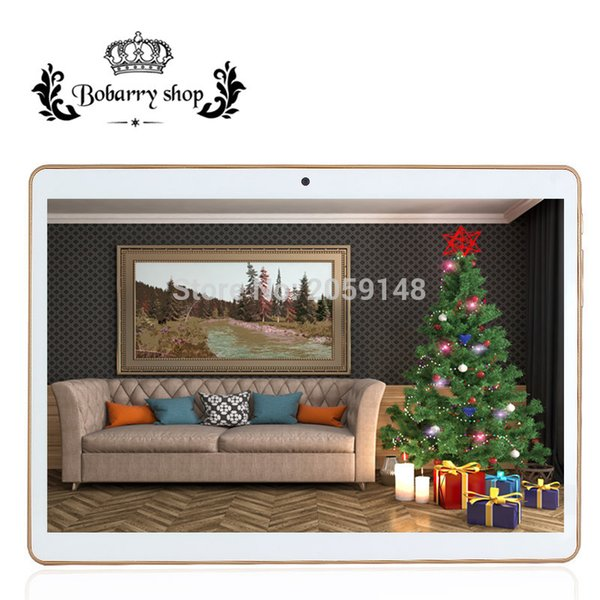 Wholesale- 9.6 inch 3G 4G Lte The Tablet PC Octa Core 4G RAM 32GB ROM Dual SIM Card Android 5.1 Tab GPS bluetooth tablets 10 10.1 + Gifts