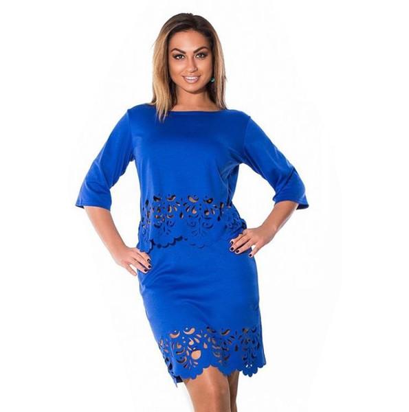 2017 Hot Selling 2017 Women Clothing Set Dress Plus Size L 6xl ...