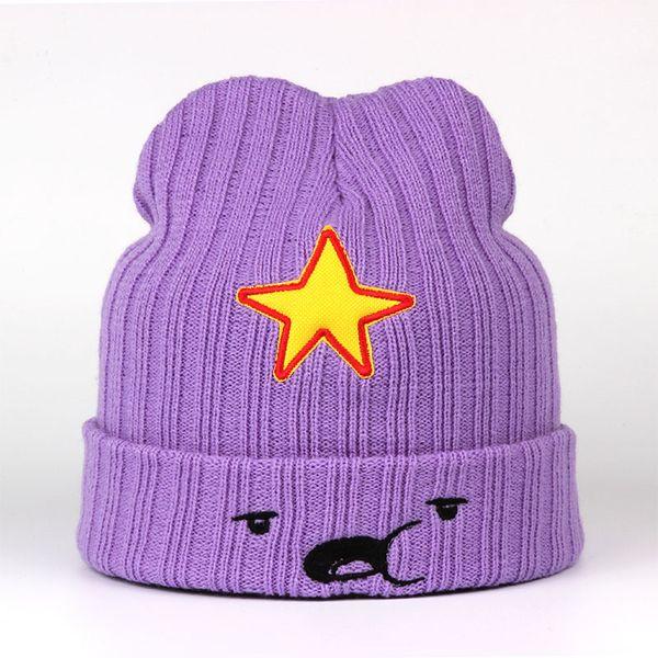 best selling 2018 NEW Winter Hats For Women Men Modno Star Fashion Lovely Cute Hat model Lumpy Space Princess hat Female Skullies Beanies