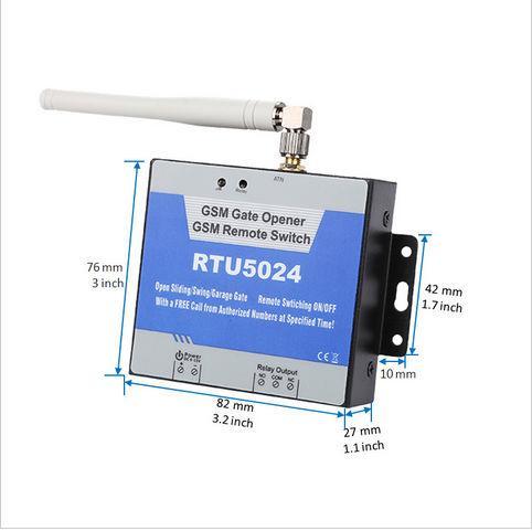 Großhandels-3G GSM Toröffner 3G Netzwerk GSM Fernschalter Tor Türöffner Relais Schalter Remote Access Control Türöffner