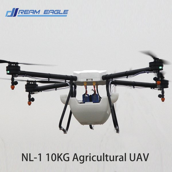 Drone NL 1 10KG For Agricultural Spraying Unmanned RC Drone Plant  Protection UAV Empty Carbon Fiber Frame Agriculture Machine Drone Sales Rc  Drone
