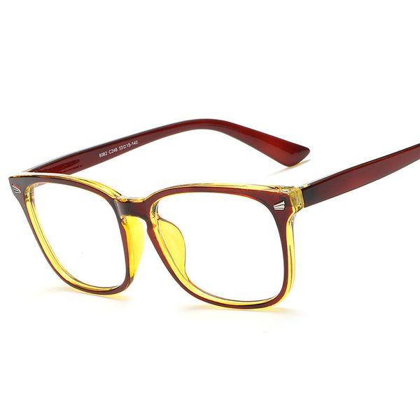 Wholesale- ANEWISH Fashion Eyeglasses Man Frames Eyewear Women Plain Glass Spectacle Eye Frame Computer Glasses Oculos De Grau feminino