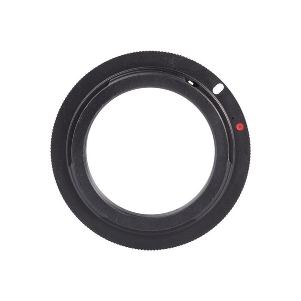 Freeshipping 2pcs/lot New Black Color M42 Lens to For Canon Camera EF Mount Adapter Ring 60D 550D 600D 7D 5D 1100D