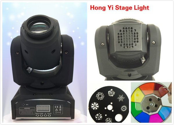 2016 New hot DMX Stage Spot Moving 8/11 Channels LED 30W Moving Head Fast Shpping
