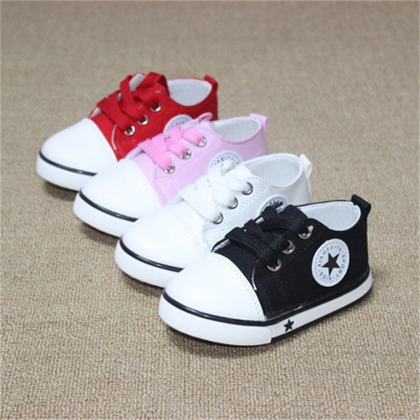 best selling New Spring Canvas Children Shoes Baby Breathable Sport Shoe Boys And Girls Not Smelly Feet Soft Chaussure Kids Sneakers