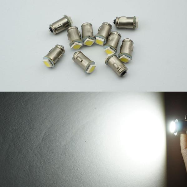 BA7S Diodo 7mm REDONDO 1 LED SMD 12 V t2 led lâmpadas auto Instrumento luz interior Baioneta Base DASHBOARD lâmpadas 100 pcs
