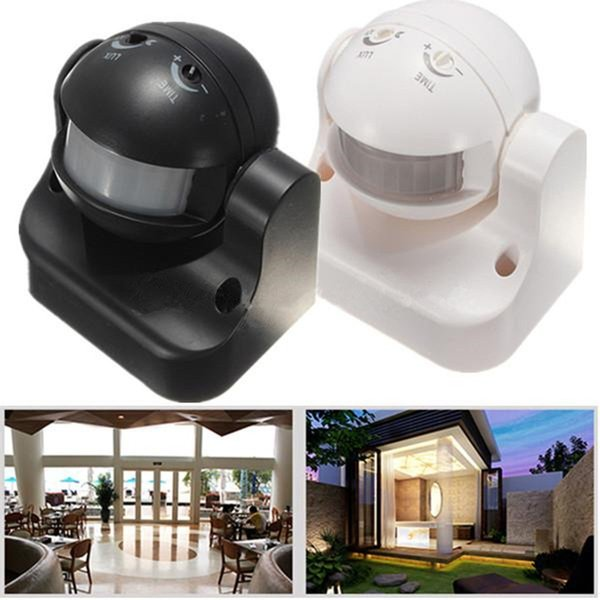 High Quality Outdoor/Indoor Durable 12M 180° Degree Security Auto PIR Motion Sensor Detector Switch Light Home Garden Light Lamp Wall Switch