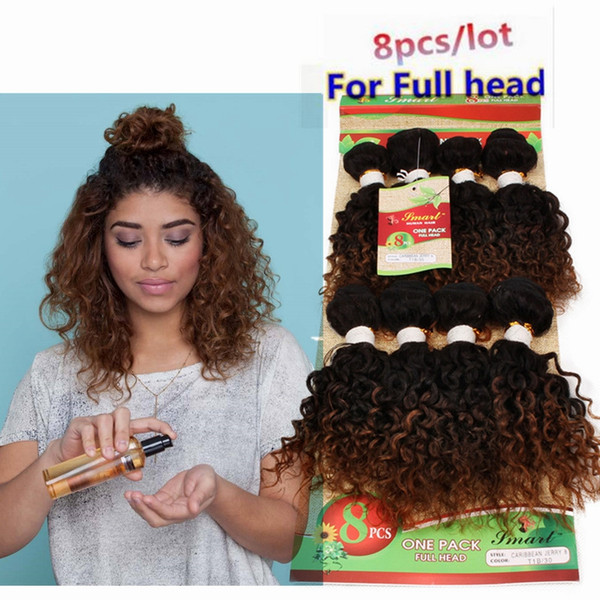 burgundy hair 8bundles extensions 12inch deep curly brazilian hair 250g kinky curly black color ombre brown brazilian natural wave for UK,US