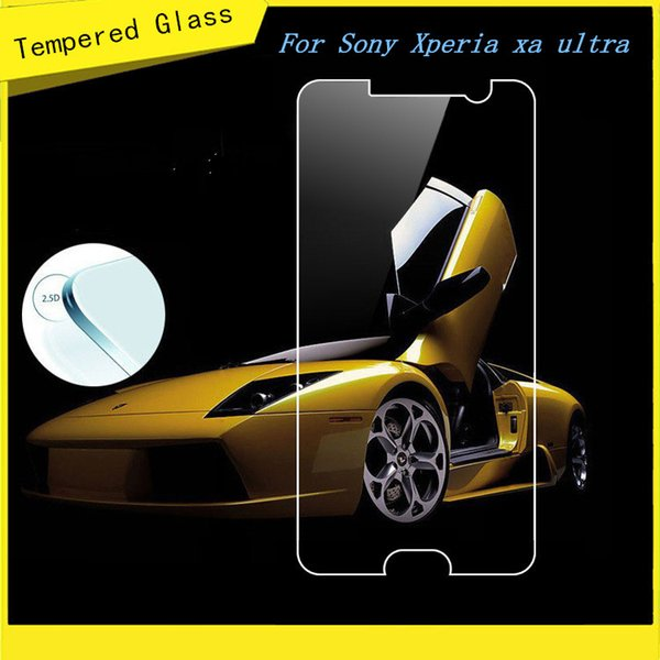 For ZTE Blade V7 Lite For Motorola Moto z force For Sony Xperia xa ultra Tempered Glass Screen Protector Film