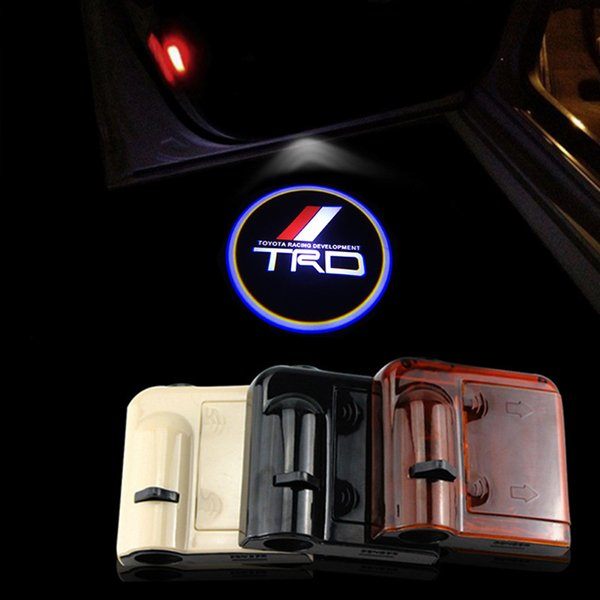 2pcs For TRD Car-styling TRD Logos Wireless Led Car Door Projector Lights for Toyota & 2018 For Trd Car Styling Trd Logos Wireless Led Car Door Projector ...