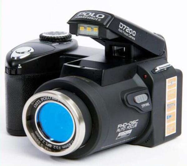 2017 Новый PROTAX POLO D7100 цифровая камера 33MP Full HD1080P 24-кратный оптический зум Автофокус П
