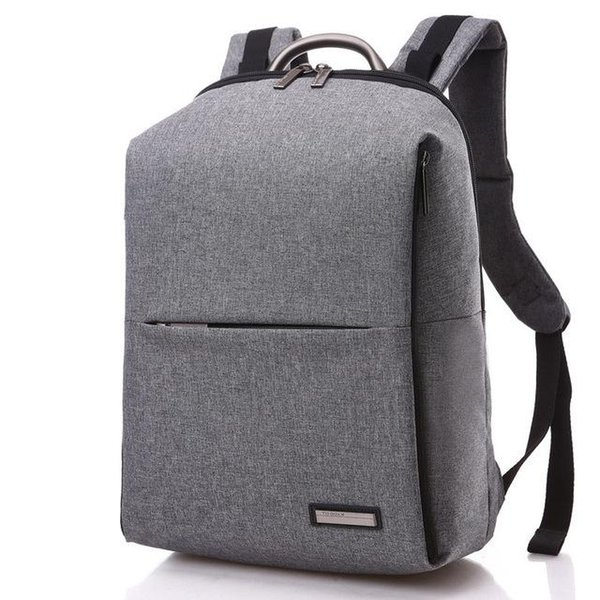 Fashion Unique Man Backpack School Backbag Square Men Backpack 14 inch Women Laptop Bag Computer