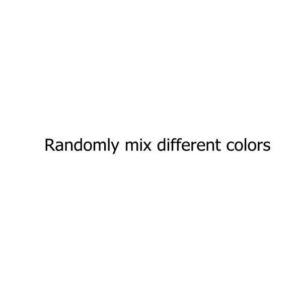 Mezclar aleatoriamente diferentes colores