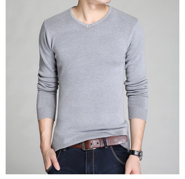 Wholesale free shipping New style fashion brand clothing men sweater knit sweater dress imported-clothing 5 colors size M-2XL