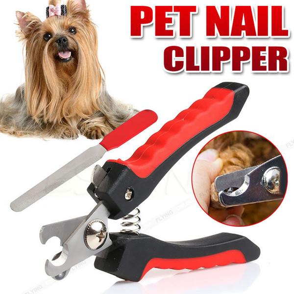 Уход за домашним животным для тяжелых ногтей Ножницы для ногтей Ножницы для резки собак Кошка для копыт кролика