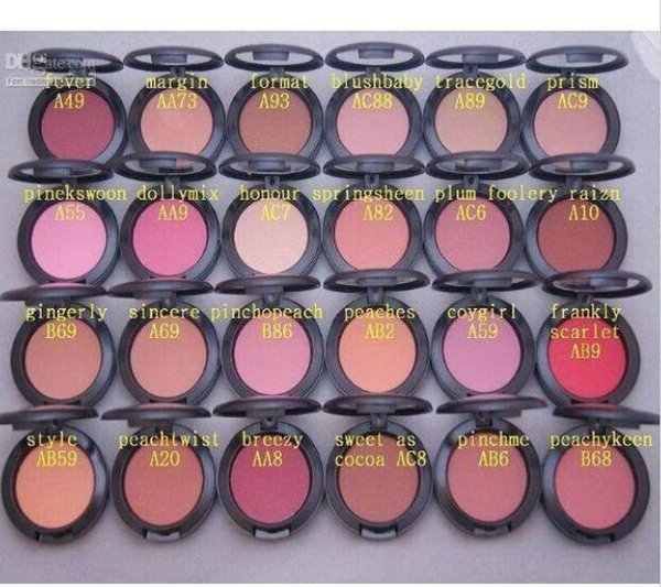 DHL SHIP NEW COSMETICS POWDER BLUSH NEW IN BOX 6G Free gift