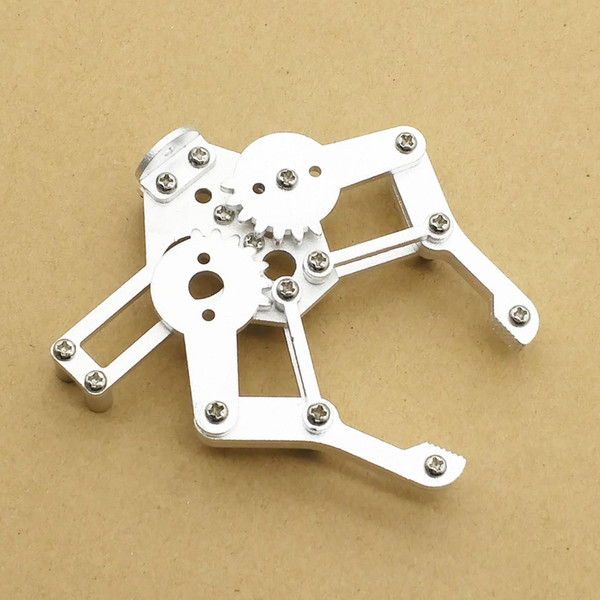 Metal Robotic Arm Gripper Robot Mechanical Claws Robot Accesorios para Arduino Compatible con MG995 SG5010 Wholesale