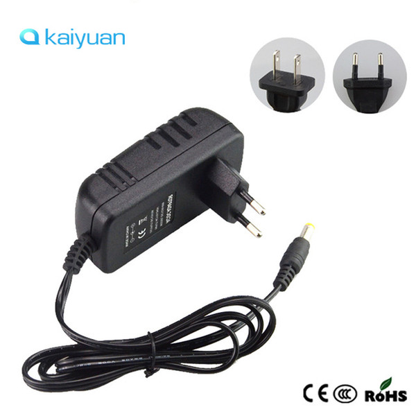 EU US Plug Led Power Adapter AC100-240V To DC12V Charger 2A 3A Switching Power Supply Converter For SMD5050 3528 5630 RGB Led Tape Strips
