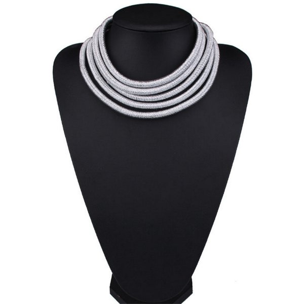 Star Same Design Kim Kardashian Collar Choker Necklaces For Women Statement Jewelry Maxi Necklaces Boho Accessories 2017 Summer Girl Jewelry