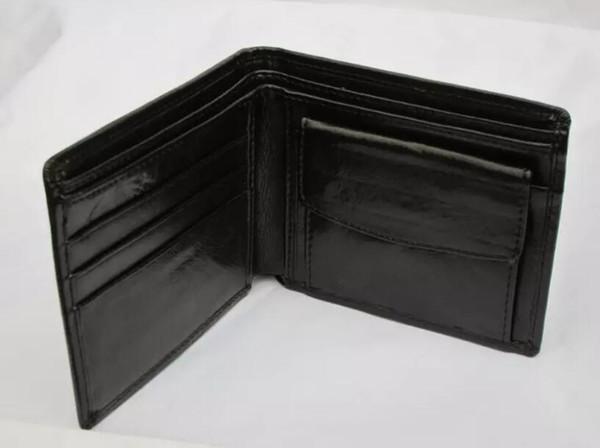 2016 HEIßER Männer Chef Brieftaschen LEDER WALLET, Halter Mit Box MEN Münze Tasche Taschen Brieftaschen + box