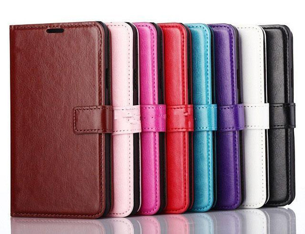 wallet PU Leather cell phone case Cover Pouch Tpu soft case for iphone 6 6plus 7 7plus 8 8plus samsung s6 s6edge s7 s7edge s8 s8+