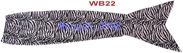 WB22-White/Black Stripe