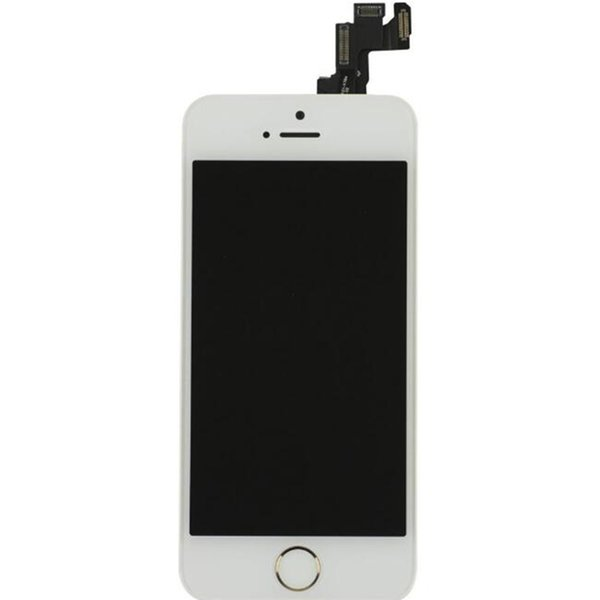 For iphone5 Grade AAA No Dead Pixels LCD Touch Screen Digitzer Facing Camera Earpiece Home Button Replacement Parts For iPhone 5 5S 5C