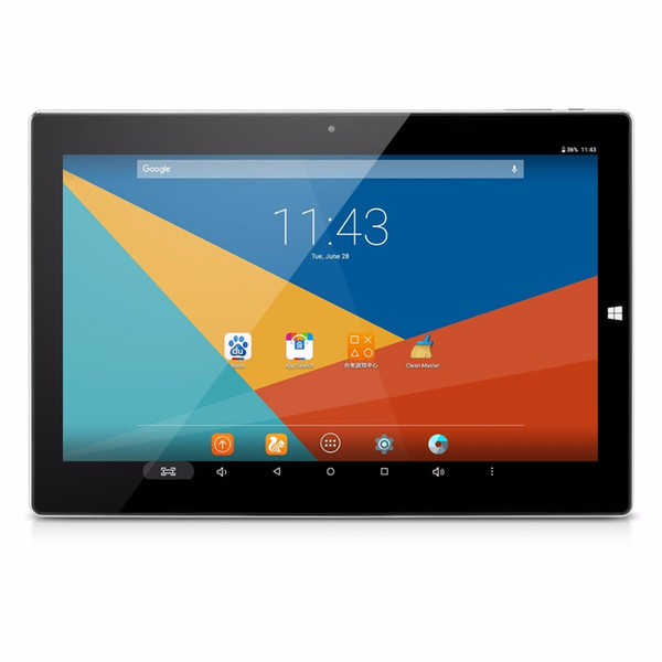 Atacado - Teclast Tbook 10 2 em 1 Ultrabook OS Dual Windows 10 + Android 5.1 Intel Trail Z8300 64bit Quad Quad Core 4GB / 64GB Tablet PC