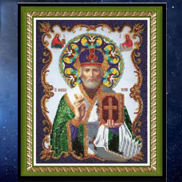 Promotion bricolage partielle 5D diamant Broder La religion classique diamant rond Peinture Croix Kits de point de diamant mosaïque décoration de la maison