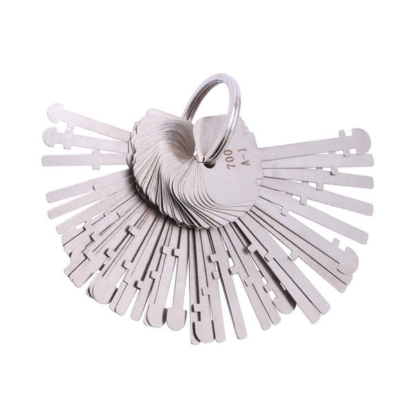 Set di chiavi KLOM Warded (40 tasti) Chiavi di blocco del reparto Warded Lock Skeleton Key Warded Keys Sblocca gli strumenti per i fabbri professionisti