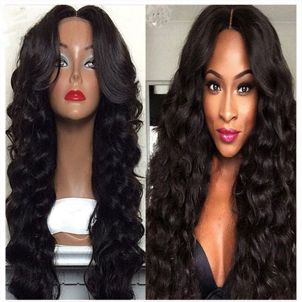 High Quality Remy Human Hair Loose Wave Full Lace Wigs 100% Human Hair Wigs Remy Hair Can Be Dyed 8-26 Inch Free Shipping