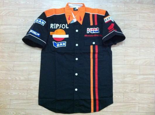Chemise de broderie F1 Chemise en coton Supercar Racing pour maillot de moto C30