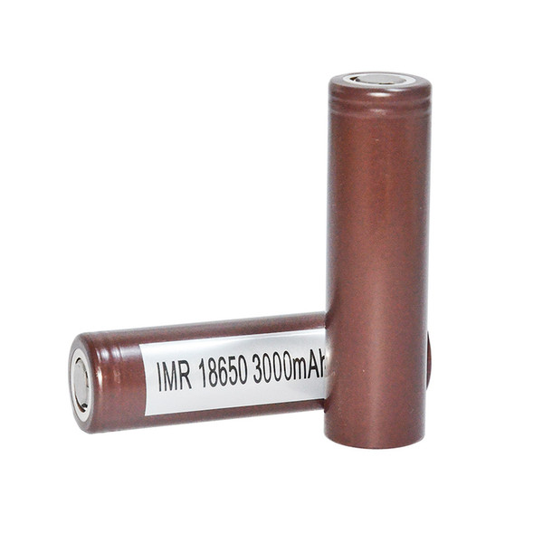 best selling HOT100% High quality 18650 HG2 3000mAh Capacity Max 35A High Drain Batteries Rechargable Lithium Battery VS HE2 HE4 Battery Free Ship Fedex