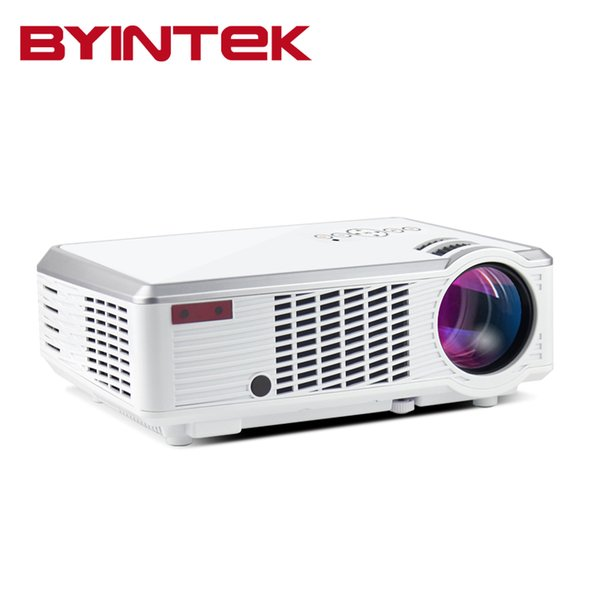 Wholesale- Byintek BL110 Cheapest Home Theater Portable HDMI USB LCD LED 3000lumens Projector HD 1080P Proyector Projetor Beamer