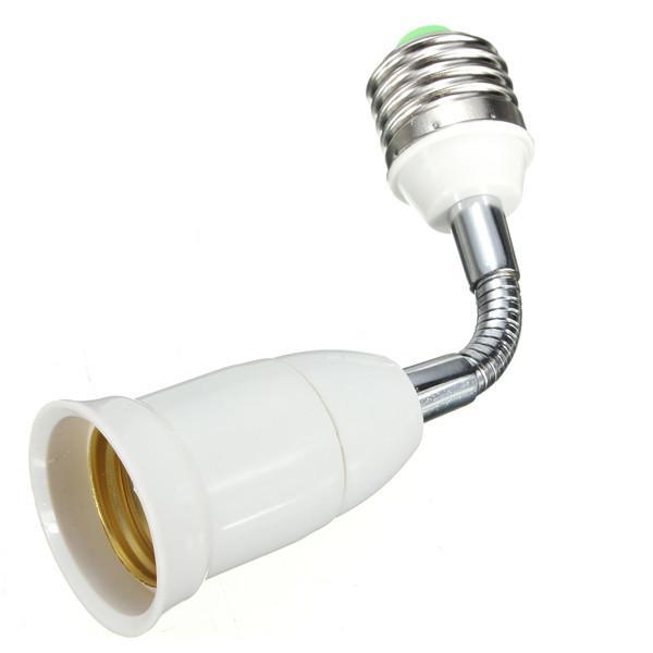 Big Promotion E27 To E27 15CM Length Flexible Extension LED Light Bulb Lamp Base Holder Screw Socket Adapter Converter