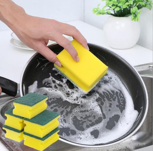 Novidade utensílios domésticos ferramentas de limpeza acessórios de cozinha escova de esponja mágica escova de limpeza para o prato panela panela de limpeza frete grátis
