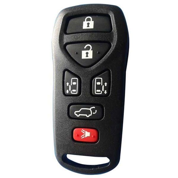 Key Fob covers For Nissn 6 button remote shell car