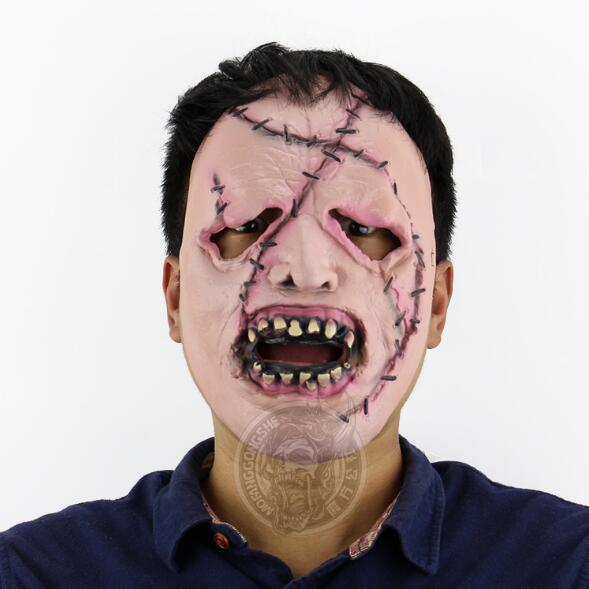 Cheap 2017 New Zombie mask Halloween super terror ghost Mummy latex silicon horror mask Masquerade prom party masks Christmas grimace masks