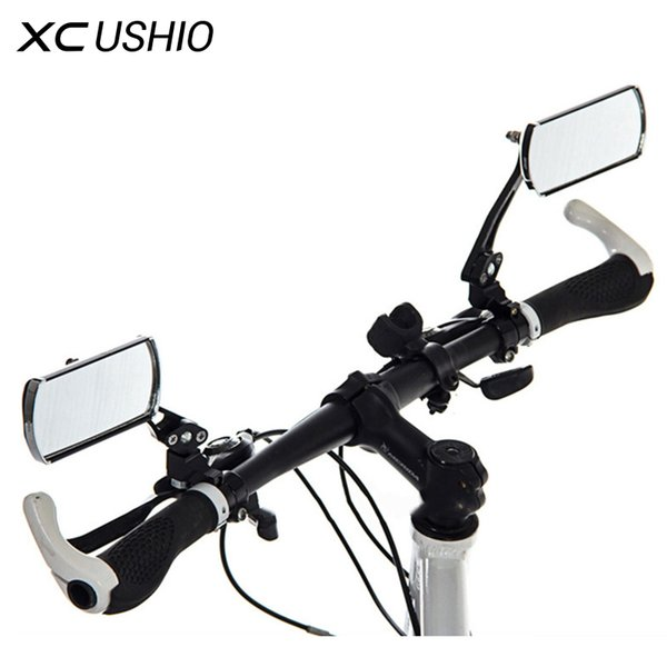 2016 hot 360 rotate Mountain Road motorcycle Bike Bicycle Rear View Mirror Reflective Safety cycling handlebar Rearview Mirror