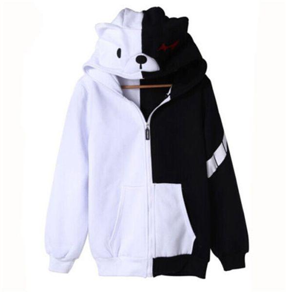 best selling Kukucos Anime Danganronpa Monokuma Unisex Clothing Casual Cosplay Sweatshirt Hoodie Costume Lovely Coat For Jung People