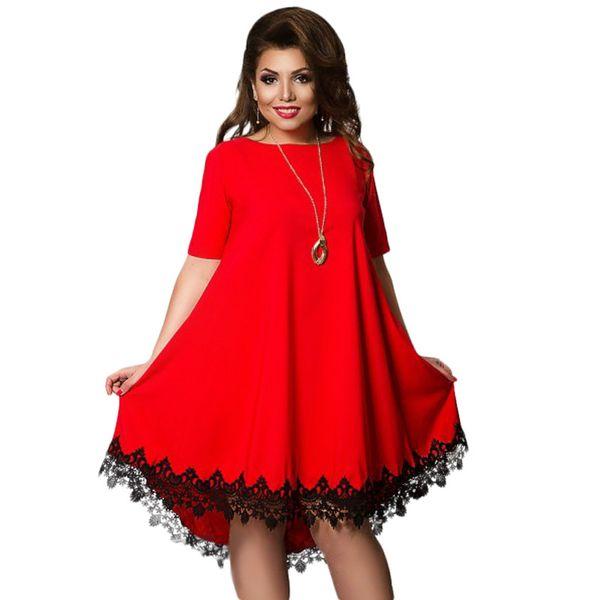 2017 Mulheres Lace Backless Grande Tamanho Grande Vestidos Elegantes Plus Size Grande Vestido Mulheres Eveing Partido robe roupas de manga curta 4XL 5XL 6XL